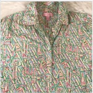 Lilly Pulitizer Sm Trophy Shirt Guiding Light NWT